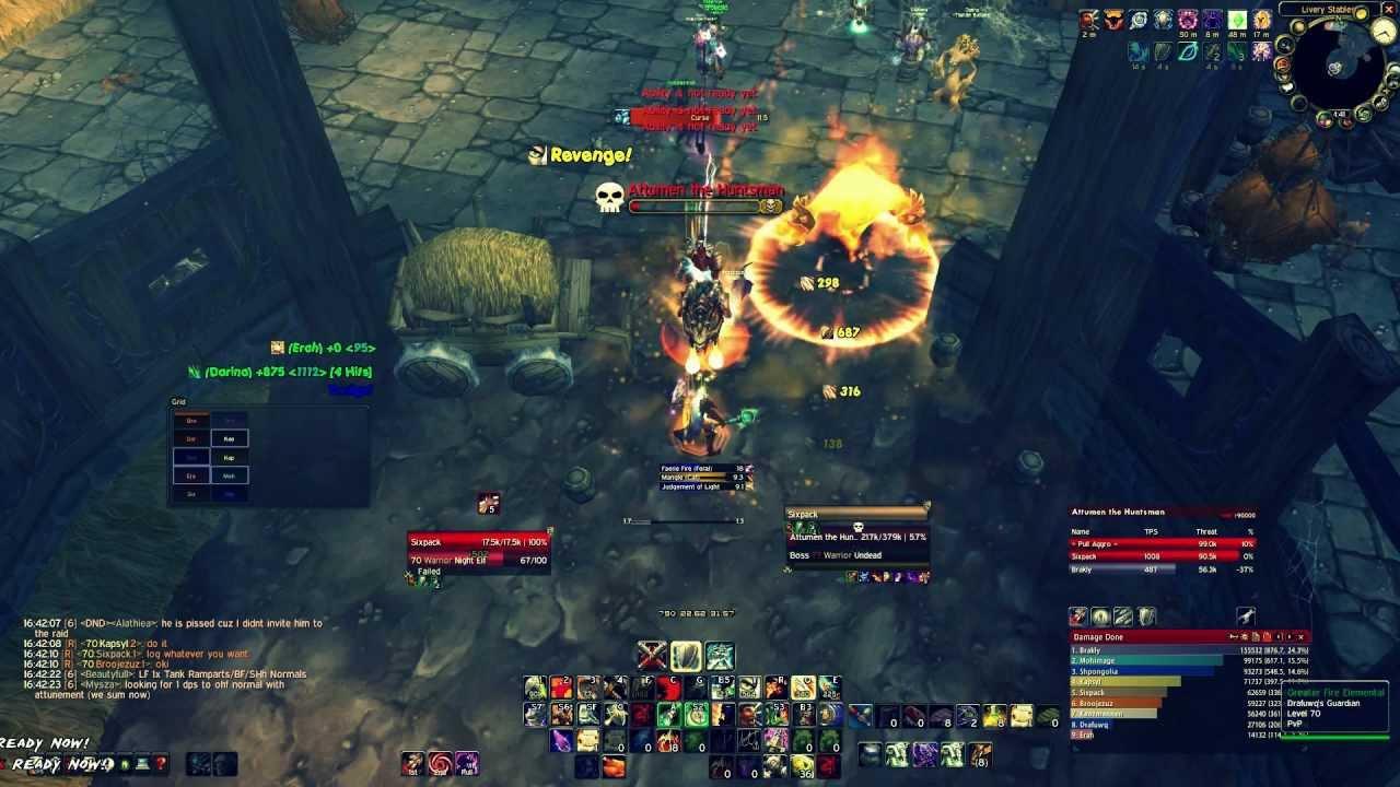 Tanking guide- Warrior [Minoaz] Feenix Archangel 2 4 3