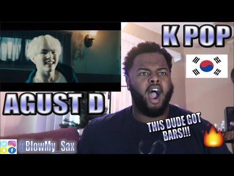 REACTING TO K-POP OR...K RAP?? ( BTS Member, Agust D 'Agust D' MV) | YBC ENT.