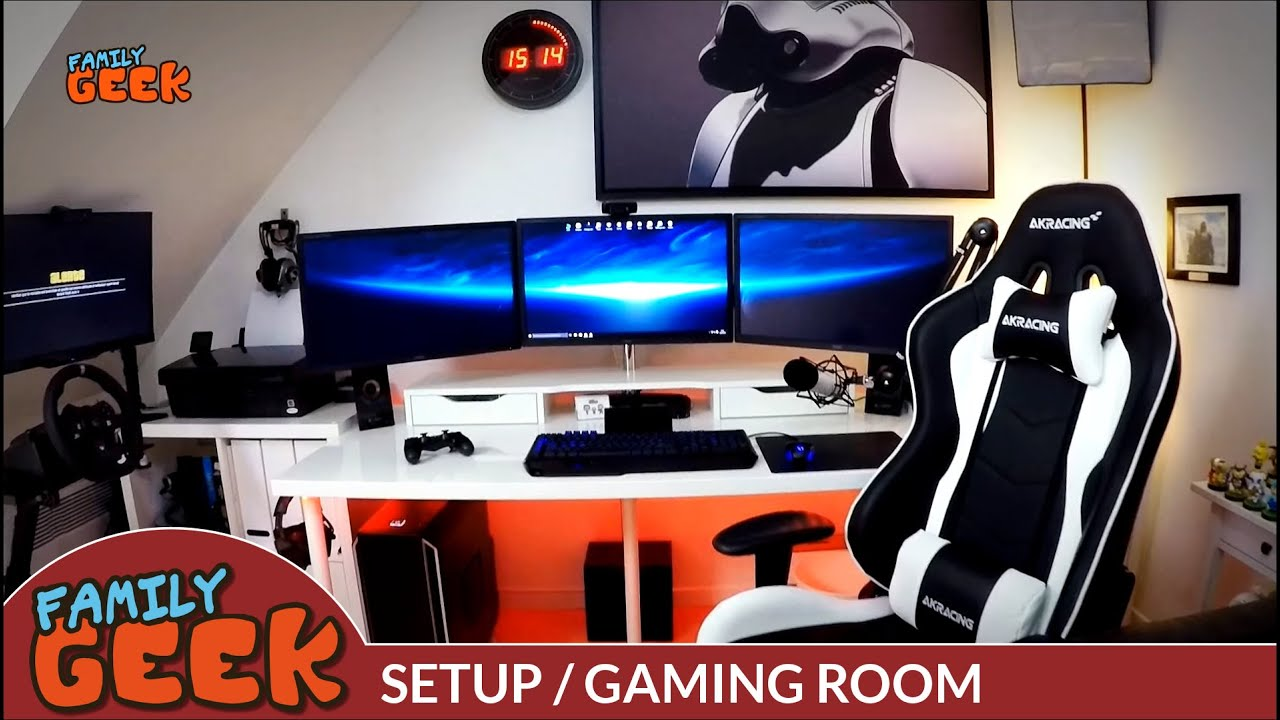 Setup Gaming Youtube Amp Twitch Family Geek Youtube