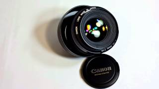 Canon EF 50mm f/1.4 Prime Lens Review