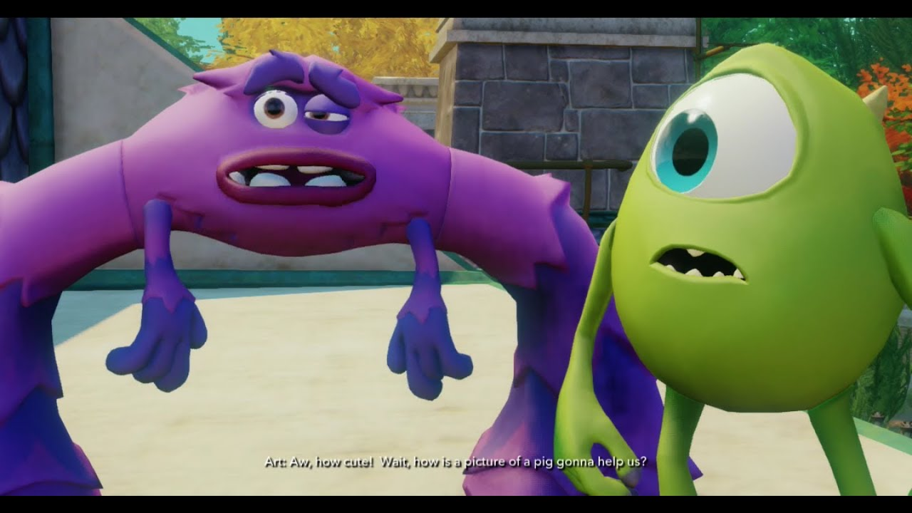 Disney Infinity - Monsters University Play Set - Part 10 ...