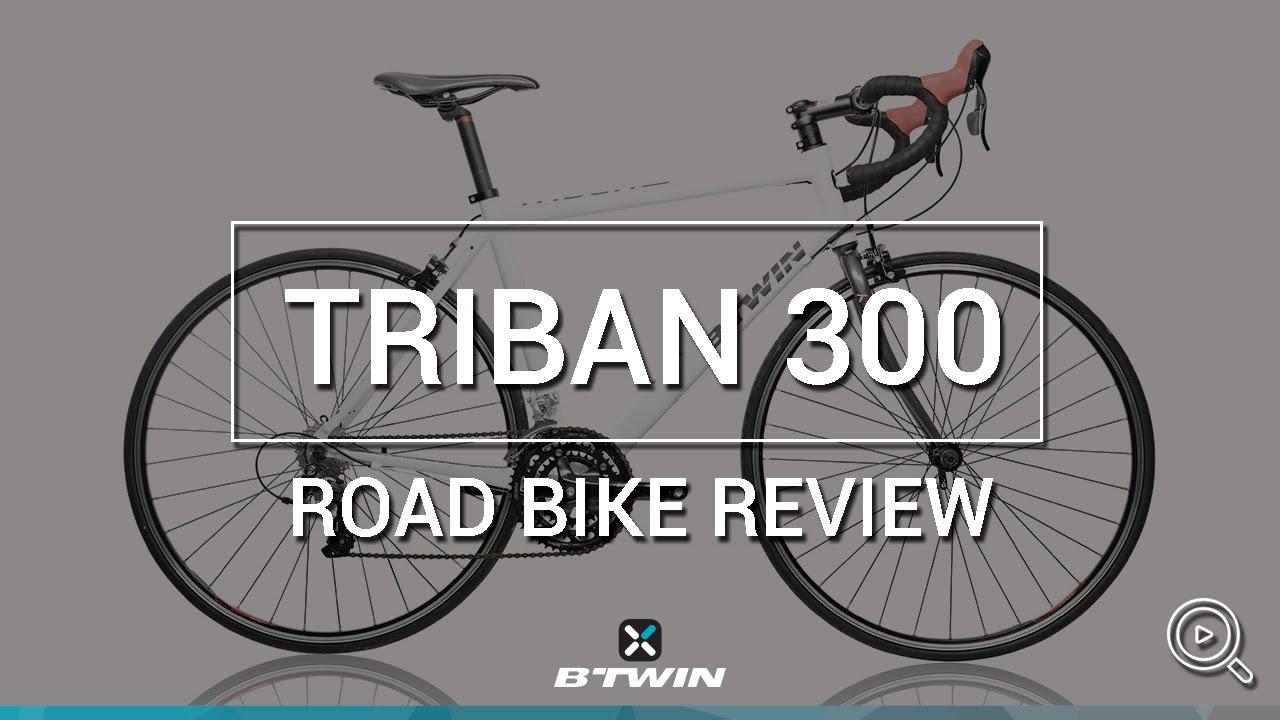 Road bike trinban 300 b 39 twin v lo de route triban 300 for Triban 300