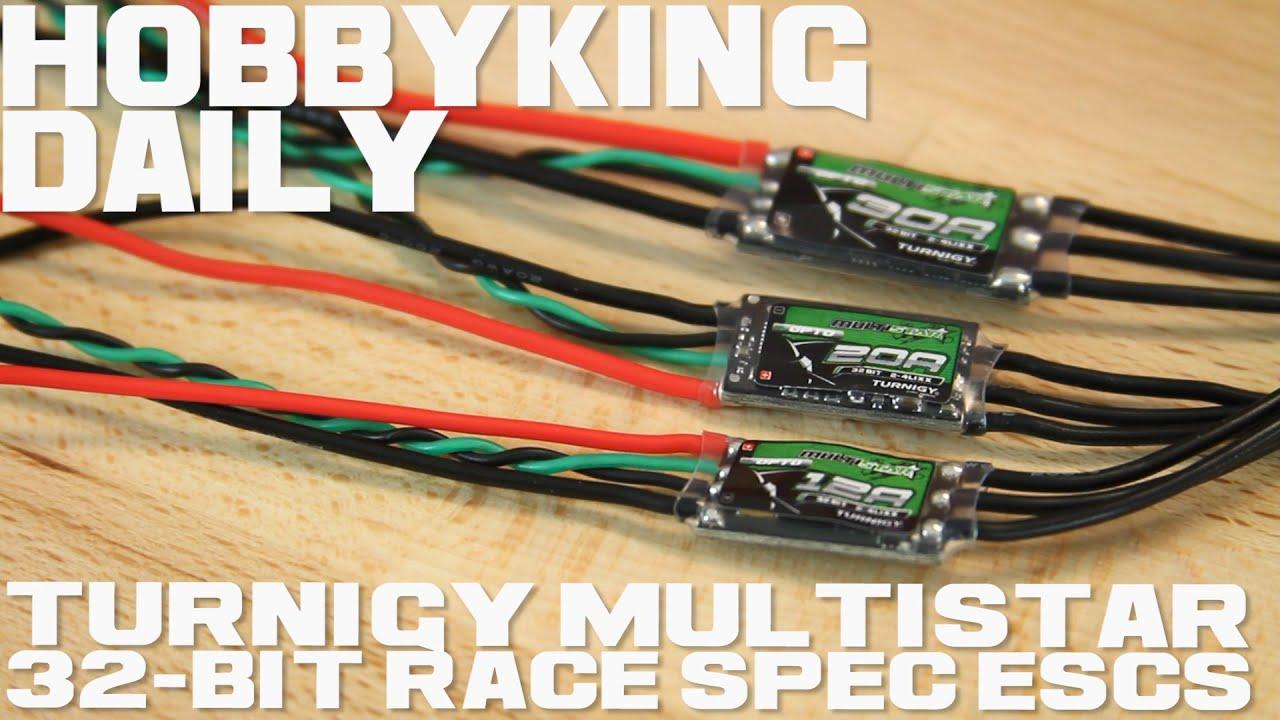 Turnigy Multistar 32Bit Race Spec ESCs - HobbyKing Daily