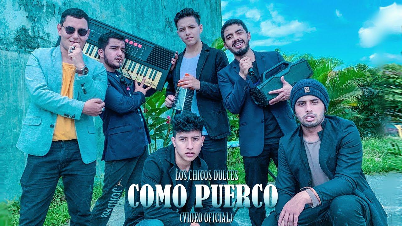 Download LOS CHICOS DULCES - COMO PUERCO (Video Oficial)