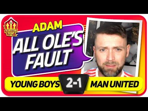 ADAM! SHOCKING FROM OLE! Young Boys 2-1 Man United   Fan Vlog