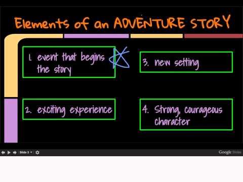 Elements of adventure stories