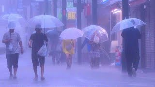 Tokyo drenched as Typhoon Hagibis approaches | AFP