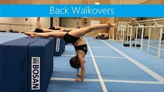 Inspiration » Back walkovers & Flexibility