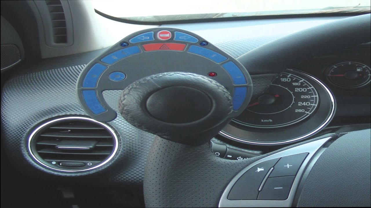 Hand Controls For Cars >> Guidosimplex USA Hand Controls for Cars and Steering Wheel Knob Video - YouTube