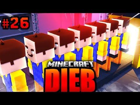 Die 50.000 NACHBAR KLON ARMEE?! - Minecraft DIEB #26 [Deutsch/HD]