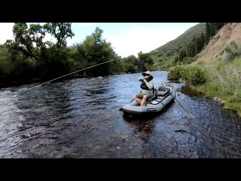 Dry Fly Fishing The Provo River From The FLYCRAFT