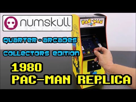 Official PAC-MAN Arcade Cabinet Replica 1/4 Scale By Bandai Namco Entertainment & Numskull
