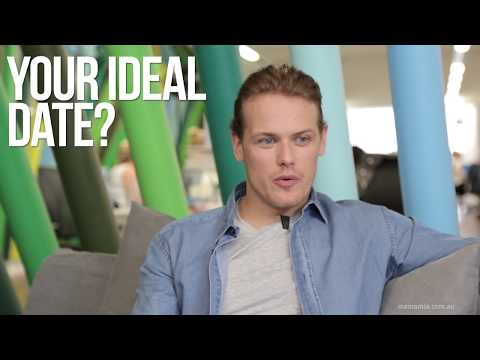 Quick questions with Sam Heughan.