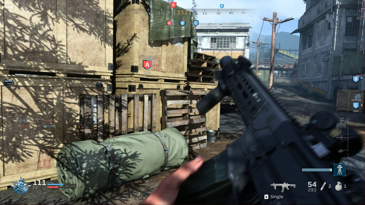 Call of Duty Modern Warfare 6v6 占地