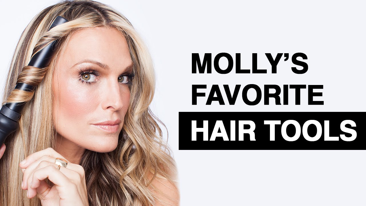 My Favorite Hair Tools Molly Sims Youtube