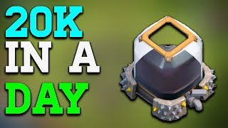 FARM 20K DARK ELIXIR IN ONE DAY Clash of Clans | BEST ATTACK STRATEGY FOR DARK ELIXIR FARMINF
