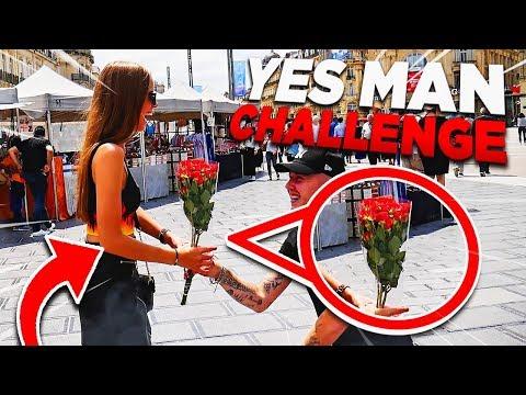 YES MAN CHALLENGE MON COPAIN ME DEMANDE EN MARIAGE !!