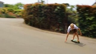 Hamboards Biscuit: Landsurfing With The Party Times