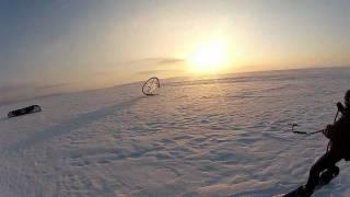 Жигулевское море мороз -20