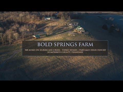 Bold Springs Farm | McEwen, TN- SOLD