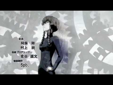 Hacking to the gate (Steins;Gate opening) but it's sung by Google Translate