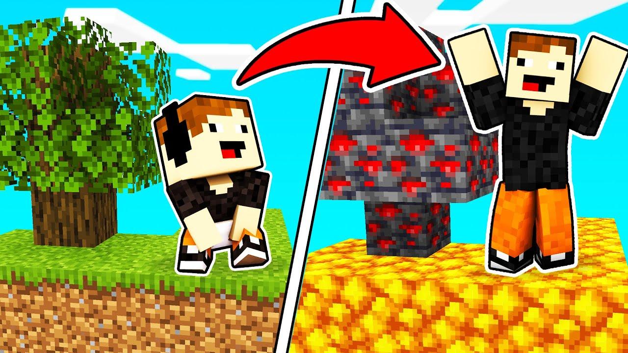 SKYBLOCK de BLOQUES RANDOM?! 🤣💎 | Minecraft
