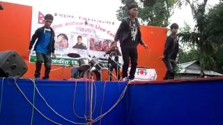 Ali Kati Najar Timro with mixing music performance by Bipin Shrestha  with He