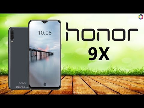 Honor 9X Release Date, Price, First Look, Specs, Camera, Features, Trailer, Launch, Leaks, Concept