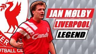 JAN MØLBY - Liverpool legend