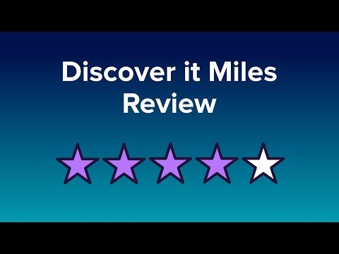 Discover it Miles Reviews: 10+ Ratings