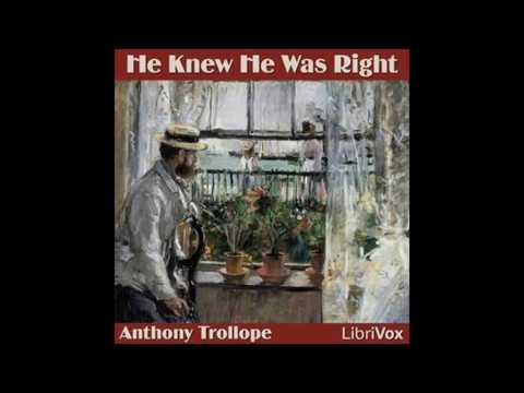 He Knew He Was Right Part 1 by Anthony Trollope book