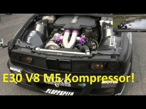Bmw E30 V8 600hp S62 Kompressor By Limmet Youtube