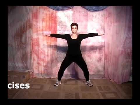 Упражнения с гантелями для женщин за 50 лет видео уроки