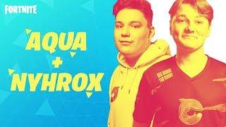 Historias del autobús de batalla: Aqua & Nyhrox