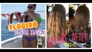 VLOG: Lobster season, fall shoe haul & Aveda hair MAKEOVER!