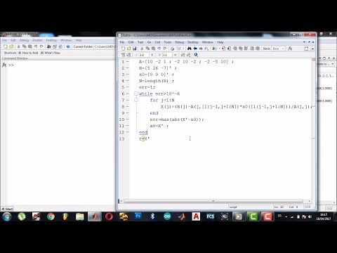 7. Gauss Seidel Iteration Method (in Hindi) from YouTube · Duration:  14 minutes 12 seconds
