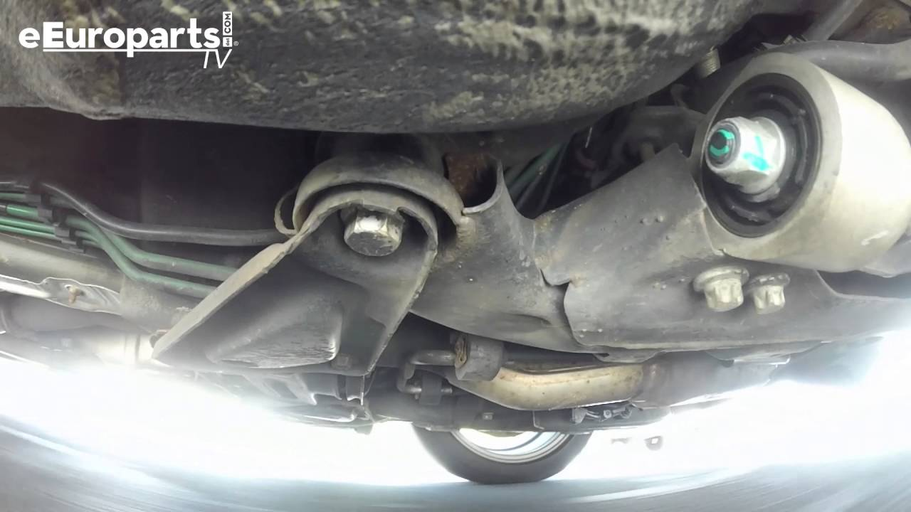 The Back Woods Saab 9-5 Subframe Bushings DIY - eEuroparts com Blog