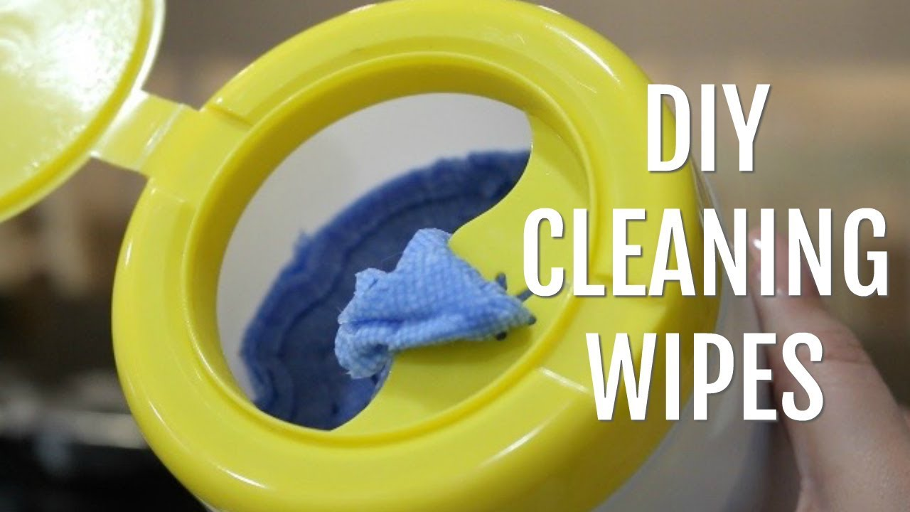 Diy Cleaning Wipes Easy Effective And Natural