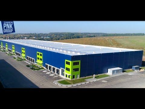 Строительство PNK здания для логистического центра DOCKLAND (г.Тула)