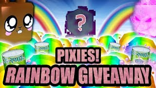 🌈 Rainbow Pet Giveaway 🌈 Bubble Gum Simulator Live Stream 💜 (Roblox 2019)