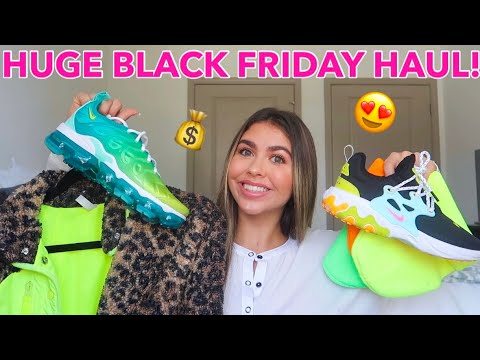 HUGE BLACK FRIDAY HAUL 2019! (Urban outfitters, Sephora, NIKE, & MUCH MORE)