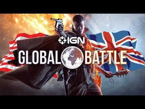 The Battlefield 1 Global Battle: IGN USA vs IGN UK