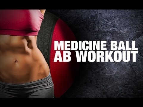 Medicine Ball ABS WORKOUT for Women (ABS & OBLIQUES)