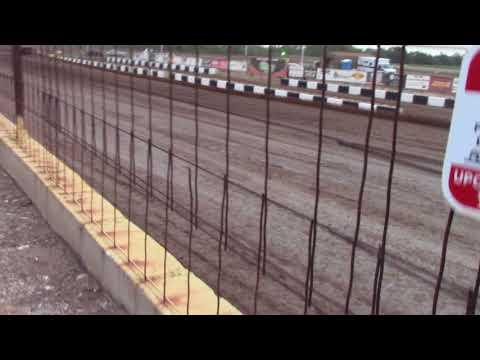 """Salina Speedway CSR Mfg. IMCA Northern Sportmods """"Heat 1"""" 7-27-18"""