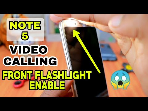 Redmi Note 5 Video Calling Front Flashlight On Super Tricks | Without Root 100% Working Live Proof