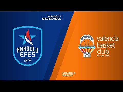 Anadolu Efes Istanbul - Valencia Basket Highlights |Turkish Airlines EuroLeague, RS Round 27