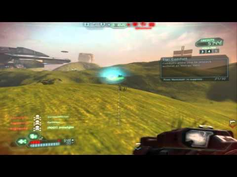 Tribes Ascend: The flag carrier/ and flag clearer (Gameplay)