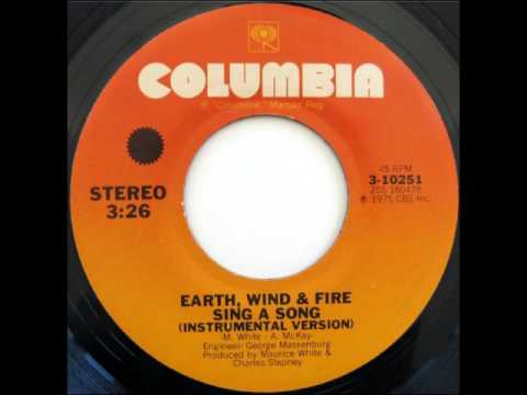 Earth, Wind & Fire  Sing a Song instrumental version