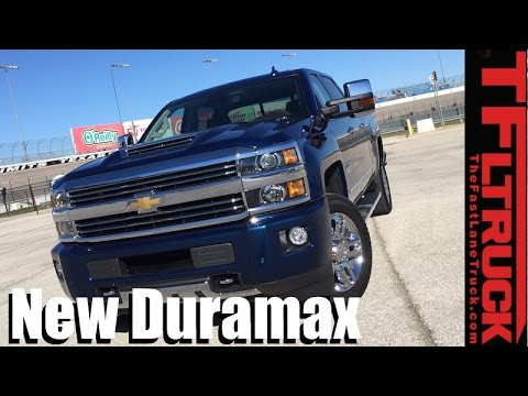 New 2017 Chevy Silverado Heavy Duty Duramax 0 60 Mph Towing Review