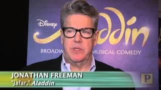 "Cast and Creatives of Disney's ""Aladdin"" Meet the Press"